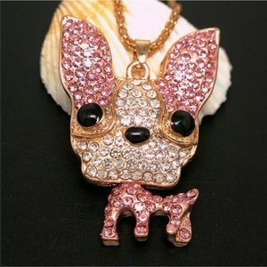 Puppy Dog Big Ear Necklace Various Colors